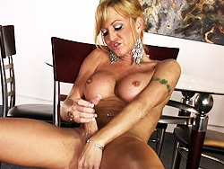 Olivia solo Irresistibly petite tranny playing with herself.